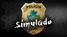 Simulado Polícia Civil de Goiás (Agente) - 04/2019